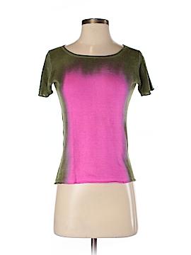 Marika Charles Short Sleeve Silk Top Size S