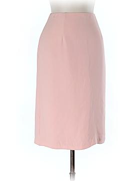 Heidi Weisel Silk Skirt Size 10