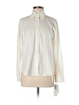 Jones New York Long Sleeve Button-Down Shirt Size M (Petite)