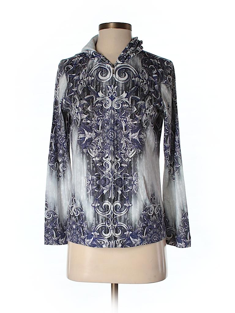 dbb71652ce8 Zenergy by Chico s Dark Purple Pullover Sweater Size Sm (0) - 88 ...