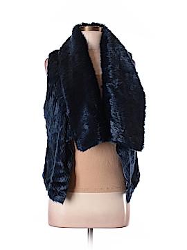 Steve Madden Faux Fur Vest Size M