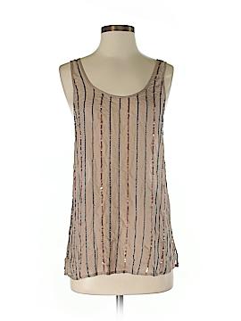 Michael Stars Sleeveless Silk Top Size S