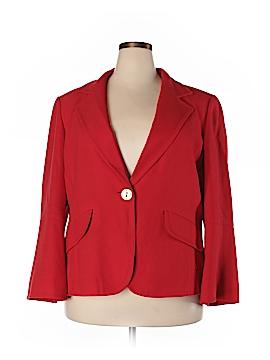 Ellen Tracy Wool Blazer Size 18 (Plus)