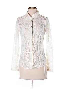 BCBGMAXAZRIA Long Sleeve Button-Down Shirt Size XS