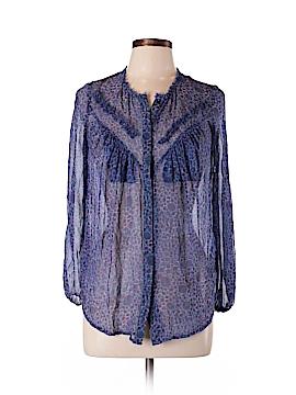 Twenty8Twelve Long Sleeve Silk Top Size 4