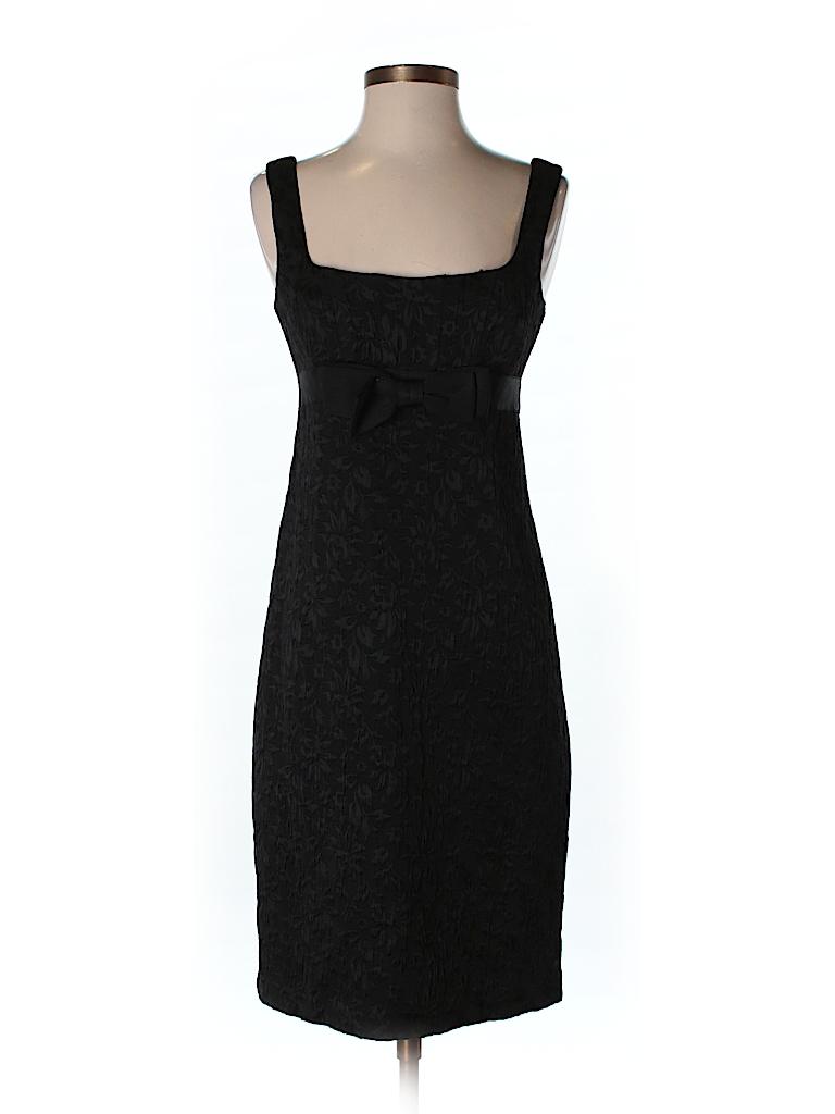 879912e6d4d6 Nanette Lepore Solid Black Casual Dress Size 2 - 95% off | thredUP