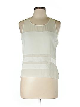 Parker Sleeveless Silk Top Size L