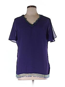BFA Classics Short Sleeve Blouse Size 10