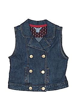 Hartstrings Denim Vest Size 6X