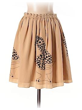 Corey Lynn Calter Silk Skirt Size 2