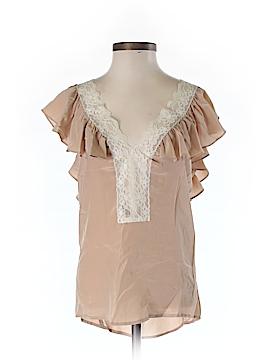 Sunner Short Sleeve Silk Top Size XS