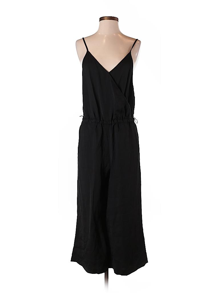 Ann Taylor Loft Solid Black Jumpsuit Size S Petite 72 Off Thredup