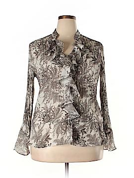 Sunny Leigh Long Sleeve Blouse Size 0X (Plus)