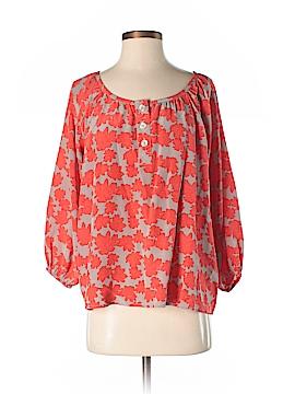 Bayla Jane 3/4 Sleeve Silk Top Size XS
