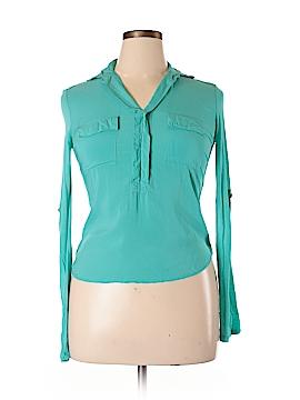 Vintage Havana Long Sleeve Blouse Size XL