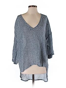 Virginia Johnson 3/4 Sleeve Blouse Size XS