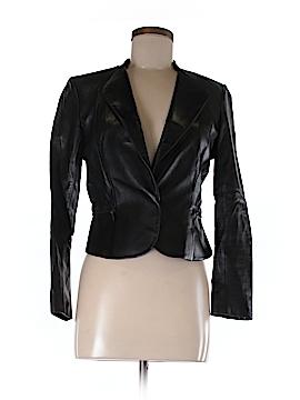 Cynthia Steffe Leather Jacket Size 6