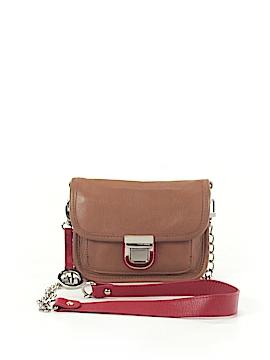 Audrey Brooke Leather Shoulder Bag One Size