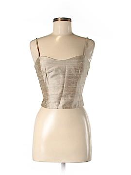 Emporio Armani Sleeveless Silk Top Size 44 (IT)
