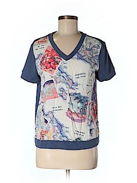 Peter Som For DesigNation Short Sleeve T-Shirt Size M