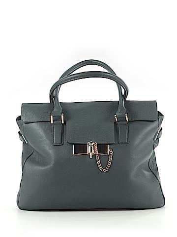 LC Lauren Conrad Leather Satchel One Size