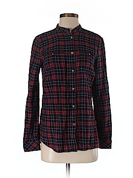 Gerard Darel Long Sleeve Button-Down Shirt Size 4 (36)