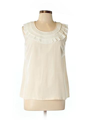 Kate Spade New York Short Sleeve Silk Top Size L