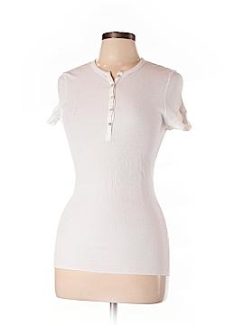 Splendid Short Sleeve Henley Size L