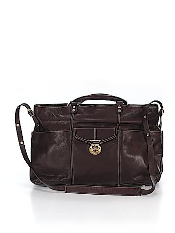Hayden Harnett Leather Laptop Bag One Size