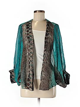 Alberto Makali Silk Blazer Size M