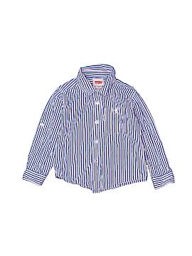 Levi's Long Sleeve Button-Down Shirt Size 2T