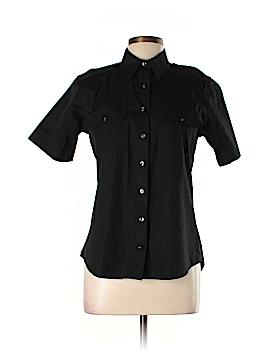 Lands' End Short Sleeve Button-Down Shirt Size 10