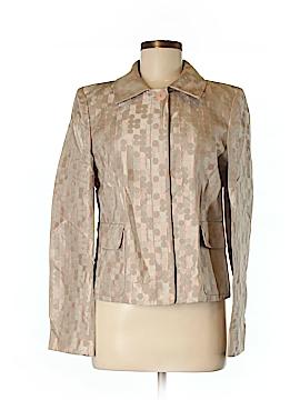 Linda Allard Ellen Tracy Silk Blazer Size 8