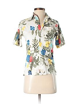 CALVIN KLEIN JEANS Short Sleeve Button-Down Shirt Size S