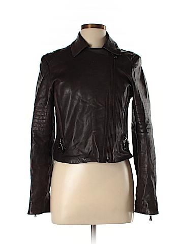 J Brand Leather Jacket Size L