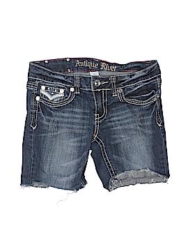 Antique Rivet Denim Shorts 27 Waist