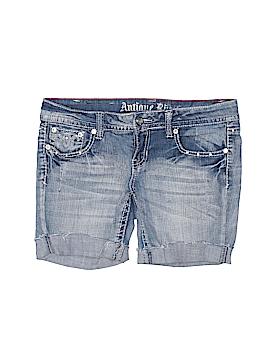 Antique Rivet Denim Shorts 28 Waist