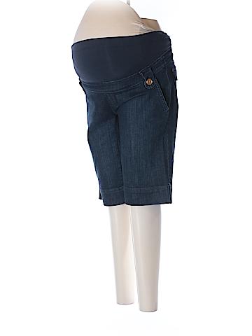 Mimi Maternity Denim Shorts Size S (Maternity)