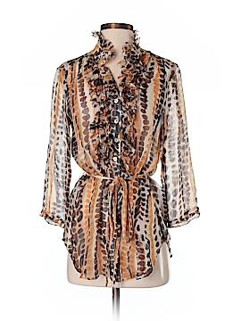 Da-Nang 3/4 Sleeve Silk Top Size S