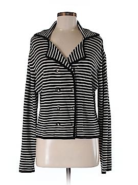 Norm Thompson Silk Cardigan Size M