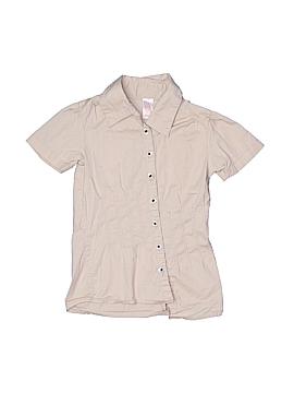 Chillipop Short Sleeve Button-Down Shirt Size 6X