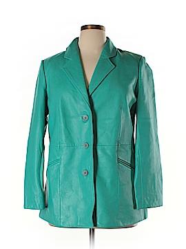 Bernardo Leather Jacket Size XL (Petite)