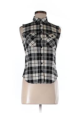 So Nikki... Sleeveless Button-Down Shirt Size M