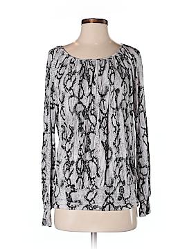Ellen Tracy Long Sleeve Blouse Size S