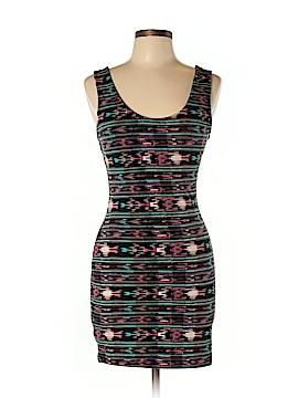 Color Thread Casual Dress Size L