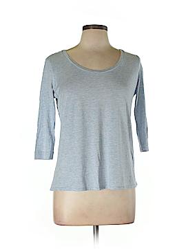 Eileen Fisher 3/4 Sleeve Silk Top Size M (Petite)