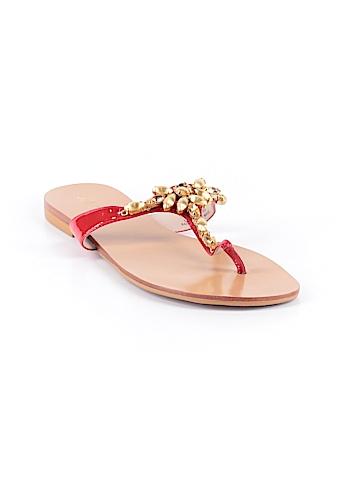 Joan & David Flip Flops Size 8