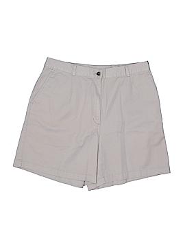 L.L.Bean Khaki Shorts Size 16