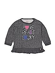 Lucky Brand Girls Sweatshirt Size L (Kids)