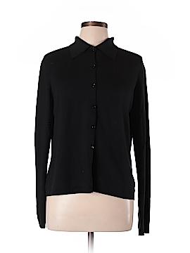 City DKNY Silk Cardigan Size L